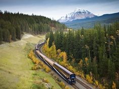 Touring Canada by Rail | While you truly can't go wrong no matter which transportation you use throughout the country, it doesn't really get any better than seeing Canada by rail