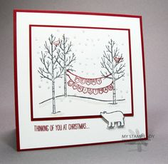 Click here to go to the Stampin' Up! Online Extravaganza Last Day Doesn't the White Christmas set...