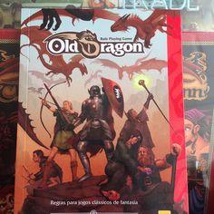 Que tal um livro de RPG para jogar com os amigos! #DeliDaPersy #rpg #olddragon #redboxeditora