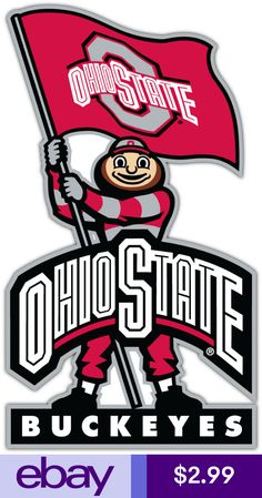 san francisco ab184 ce3e2 Statement Stickers   Decals Collectibles Ohio State University, Ohio State  Buckeyes, Sports Flags,