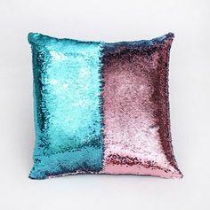 Mermaid Sequin Pillow Slip Cover
