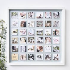 Framed Wedding Photo Print personalised framed wedding photo print by sophia victoria joy Polaroid Pictures Display, Polaroid Display, Polaroid Wall, Polaroids, Polaroid Ideas, Display Family Photos, Wedding Frames, Wedding Cards, Wedding Photos