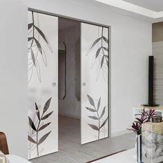 Glass Pocket Doors – Page 11 Glass Pocket Doors, Sliding Glass Door, The Doors, Door Design, Creative Design, Oversized Mirror, Hardware, Contemporary, Interior