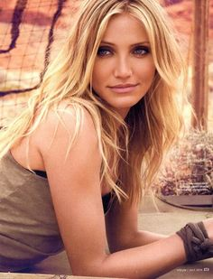 Cameron Diaz - I would love to spend a day surfing with her (not that I know how yet) she seems fun!
