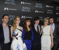 Bates Motel season 2 | Bates Motel Cast: L – R Nestor Carbonell, Nicole Peltz, Olivia Cooke ...