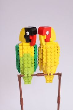LEGO LoveBirds: by DeTomaso Pantera