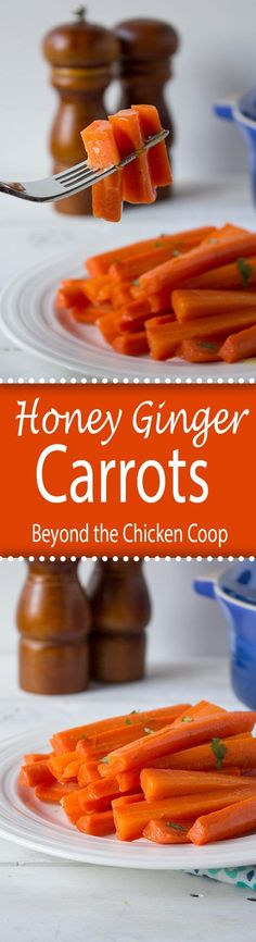 Honey Ginger Glazed Carrots