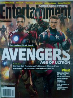 Entertainment Weekly Avengers: Age of Ultron Exclusive First Look