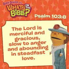 Psalm 103:8 - Verse of the Day 1/11/14 - Whats in the Bible