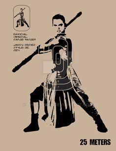 Stormtrooper Target IX - Rey by theCrow65 on DeviantArt