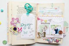 So pretty!  My Minds Eye blog.