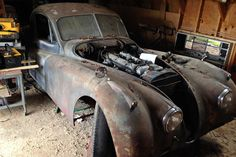 Still Runs: 1951 Jaguar XK120 Coupe - http://barnfinds.com/still-runs-1951-jaguar-xk120-coupe/