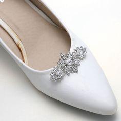 bc1f3ab74 Vintage Style Crystal Diamante Rhinestone Bridal High Heel Shoe Clips  Decoration  Unbranded  Vintage Vintage