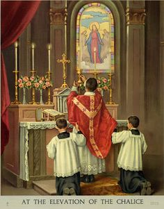 The extraordinary Latin Mass ... http://corjesusacratissimum.org/2009/12/from-ordinary-to-extraordinary/