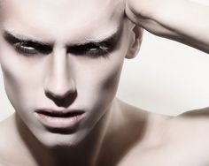 White male makeup