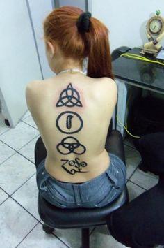Led zeppelin, tattoo