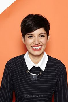 Incredible Hey, Shorty: 4 Rad 'Dos For Pixie Cuts #refinery29 www.refinery29.co…  The Piece-y Pixie The key to this classic style is a great haircut. From there, you can make it ..
