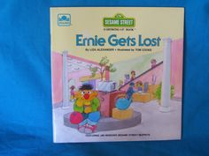 vintage 1985 Ernie Gets Lost book by Liza Alexander by TheVintageKeepers on Etsy