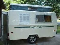 1970s 13' Compact Jr Travel trailer
