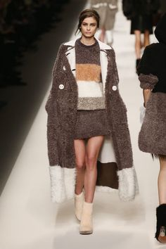 Fendi. See all the best looks from Milan fashion week fall 2015.