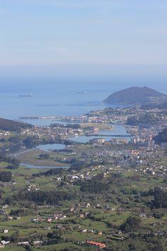 Vista desde el Monte Castelo Panoramic View from Mount Castelo