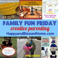 Family Fun Friday Week 61 and Creative Parenting   Happy and Blessed Home