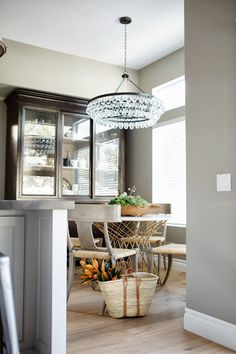 greige: interior design ideas and inspiration for the transitional home : Grey in my kitchen