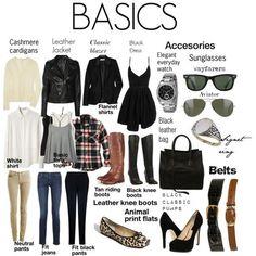 Fashion basics (from Lipgloss and Binky)