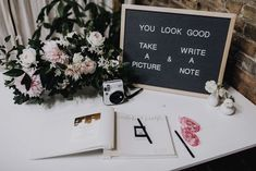 Fun wedding guestbook display   Image by Matt Lien