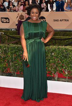 Uzo Aduba (Zac Posen) - Screen Actors Guild 2016