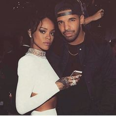 pinterest | bellloneil | Rihanna and Drake