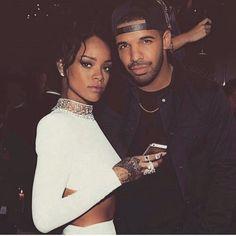 pinterest | bellloneil | Rihanna and Drake