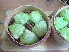 Bouchées à la vapeur aux choux chinois 白菜の肉団子蒸し | Le Japon sur la table