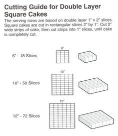 cake serving guide 1000 images about serving size on cake 2315