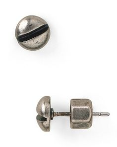 MARC BY MARC JACOBS Screw Stud Earrings | Bloomingdale's. I had gauges like this in high school