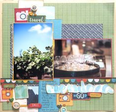 Go Now Go scrapbooking collection from Shimelle and American Crafts