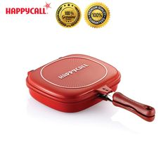 Happycall Nonstick Double Sided Pressure Titanium Multi Purpose Frying Pan Cook #Happycall