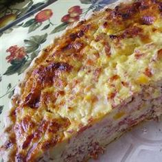 Easter Meat Pie « Papa's Recipes