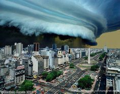 Storm in Buenos Aires