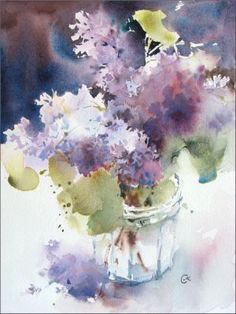 Lilac by cmwatercolors on DeviantArt