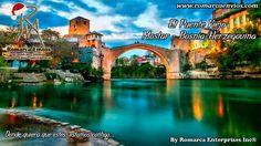 El Puente Viejo, es uno de los monumentos históricos más famosos de la antigua Yugoslavia. El puente, junto al barrio circundante en la ciudad vieja de Mostar, forma parte del Patrimonio de la Humanidad desde 2005.