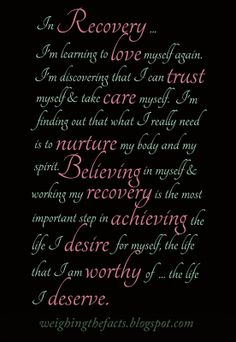 Recovery Is...