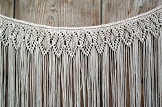 Large Macrame Wall Hanging Tapestry Woven Wall by pillowandcover