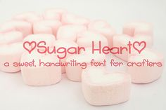 Sugar Heart - Free Font of The Week Font