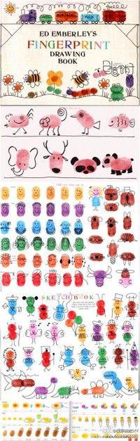 Fingerprint drawings
