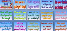 Today's Big Question (powerpoint) - builds classroom community and promotion of healthy habits and social skills, with an emphasis on making a positive contribution to school life