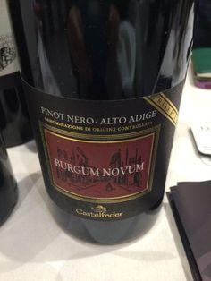 Castefeder Burgum Novum Pino Nero Alto Adige Merano Wine Festival Eataly Chicago