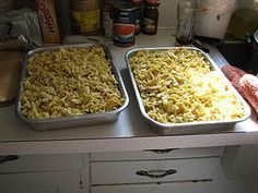 An amish recipe called Yum-a-setta!  Perfect for a large group or a Potluck!! …
