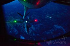 refueling from  a KC135 y