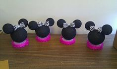 Minnie Mouse Centerpiece by miiszjdm on Etsy, $10.00
